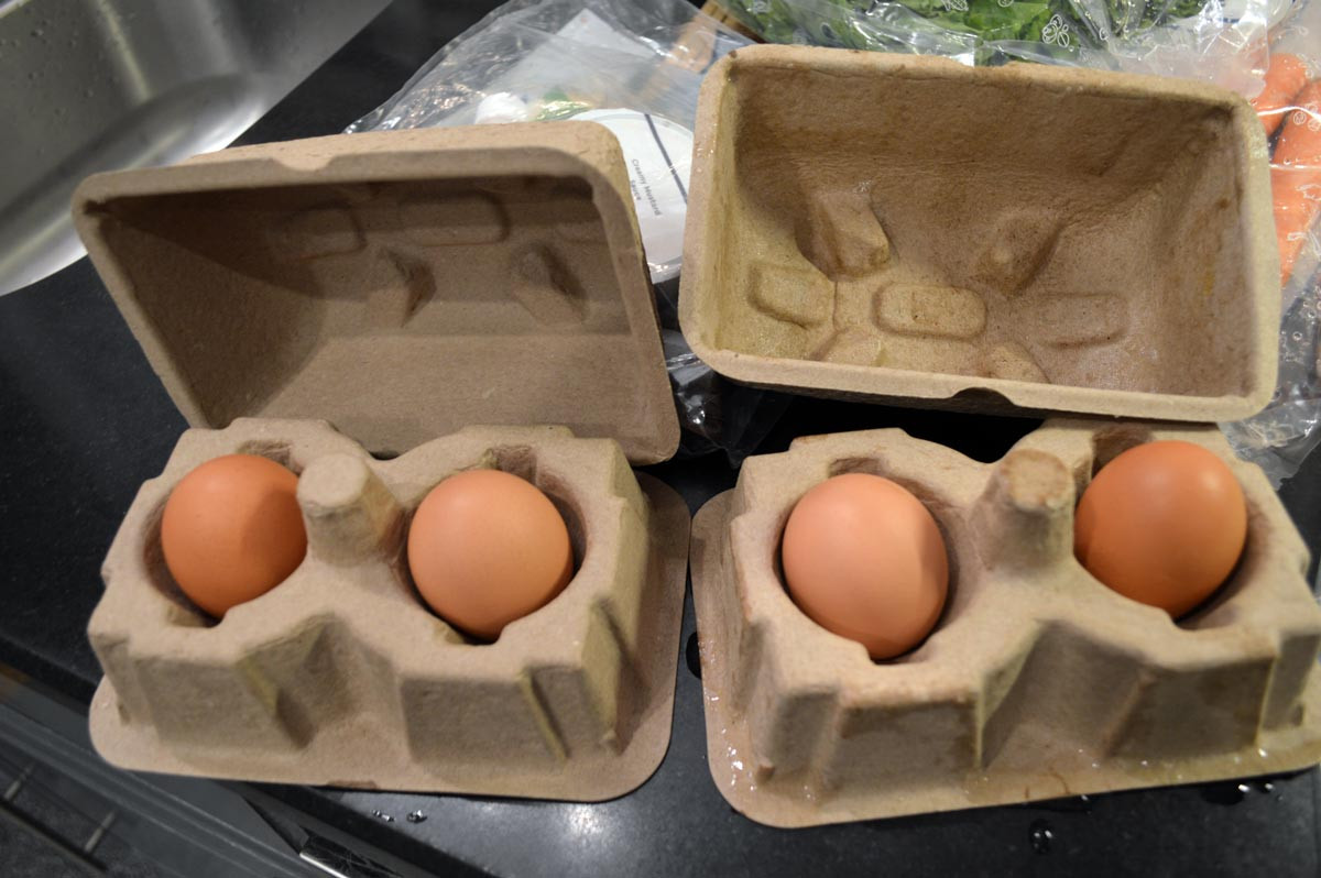 Blue Apron Egg Package