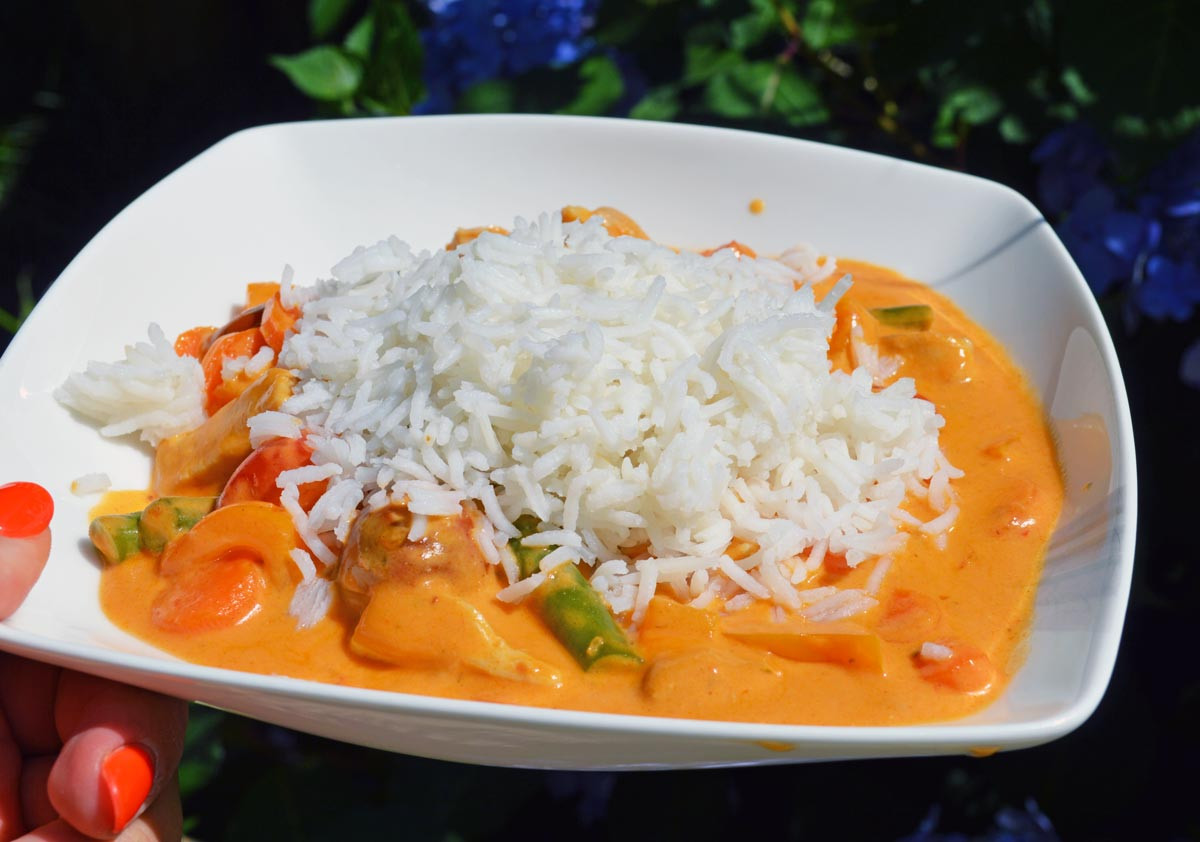 Nutrisystem Inspired Thai Curry