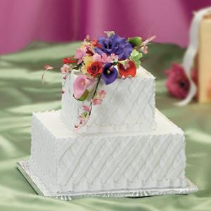 Lovely Lattice Wedding Cake Kit (Discontinued) - Wedding Cake