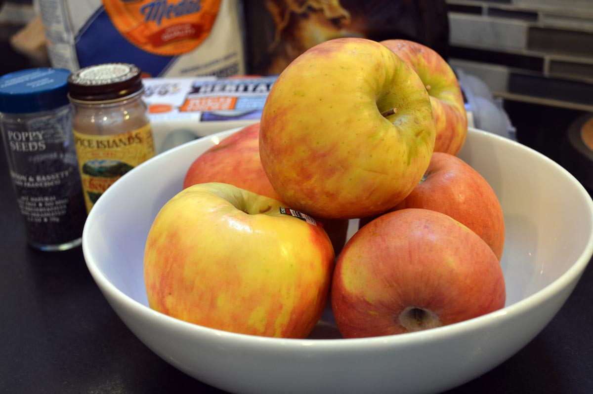 Almond Flour Apple Pie Ingredients