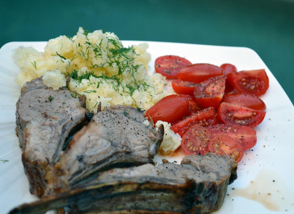 Baked Lamb Rack Recipe
