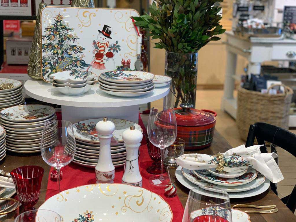 christmas dinnerware - bakingshop