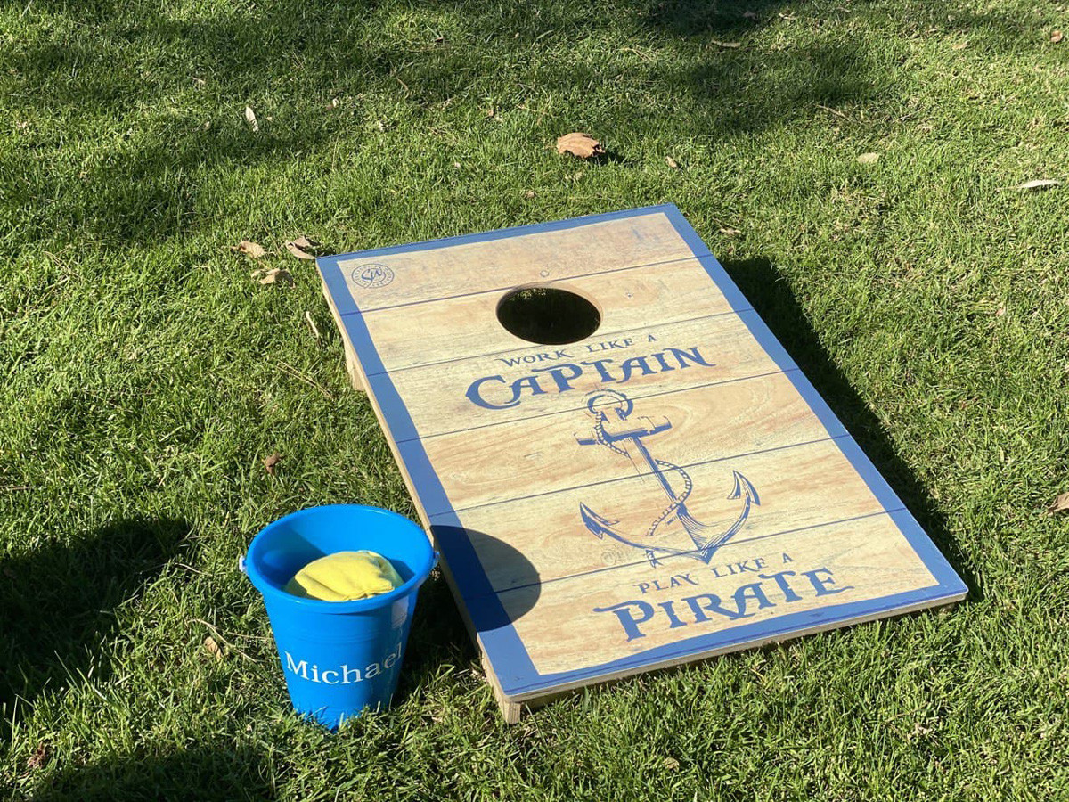 Bean Bag Toss Game from Personalization Mall