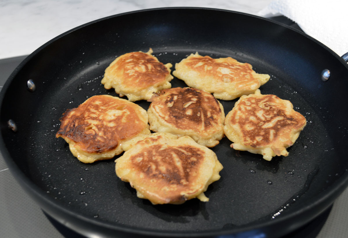 Buttermilk Pancakes Cooking