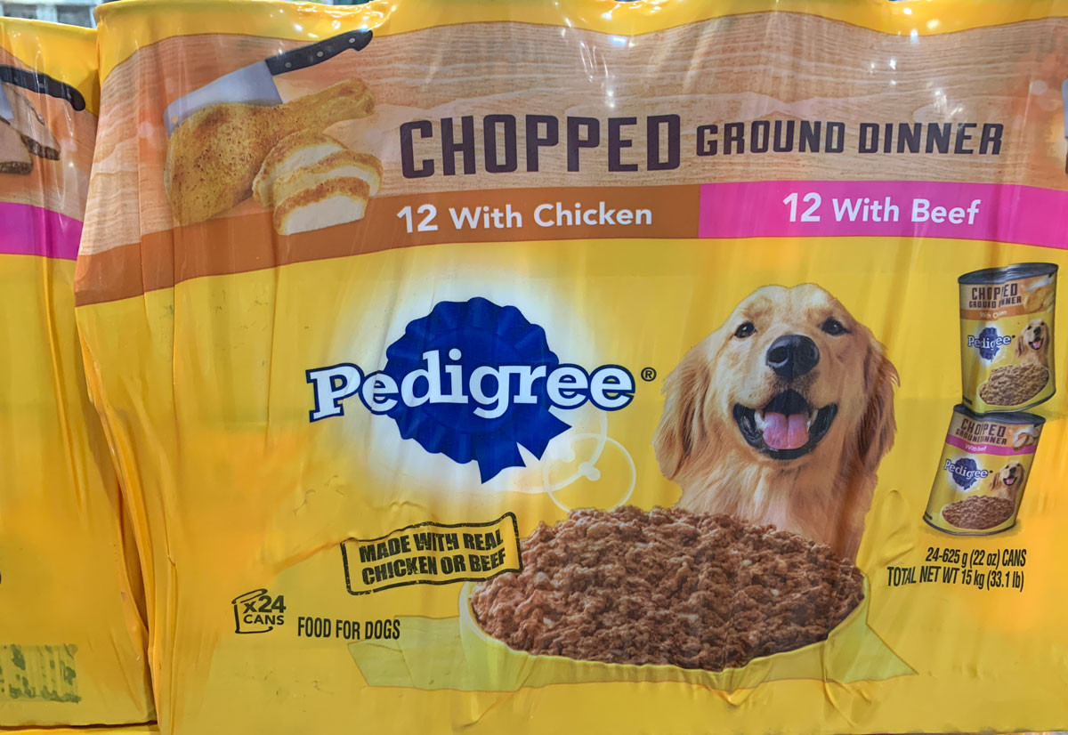 Chewy Pedigree Food Deal