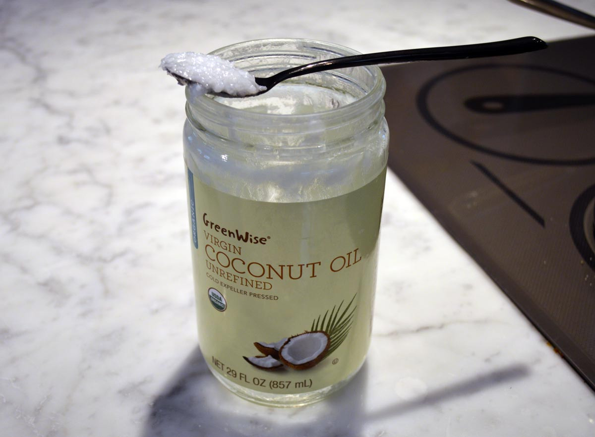 Coconut Oil for Flavor