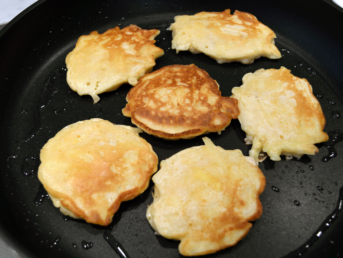 Cook Buttermilk Pancakes