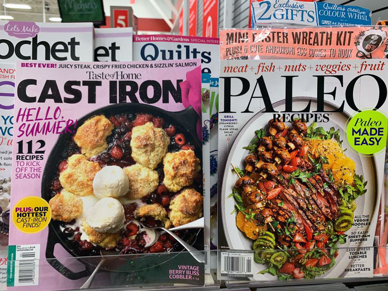 Cookbook Magazines