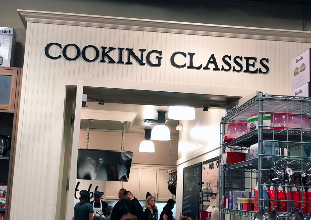 cooking and baking classes