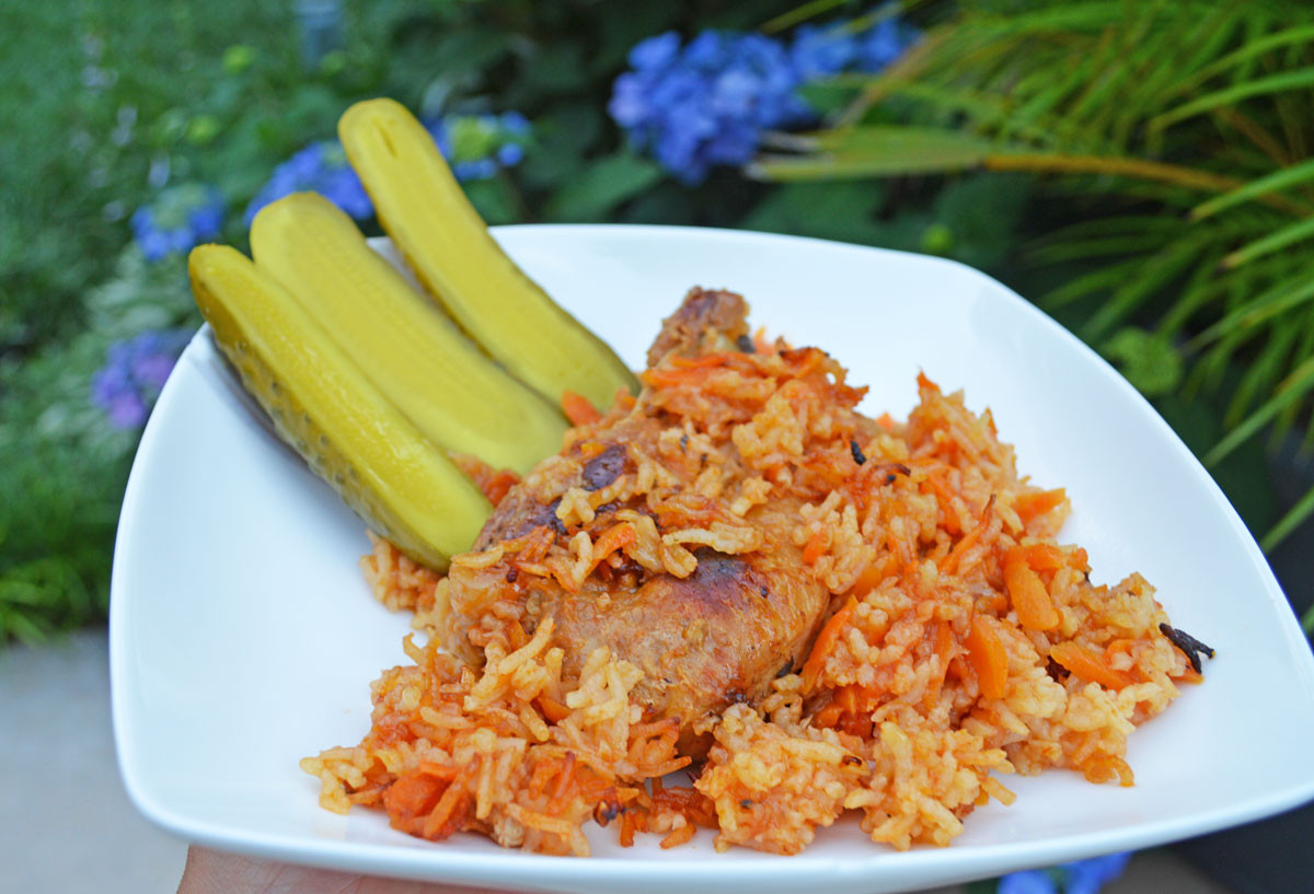 Gluten Free Rice Pilaf with Beef Ribs inspired by Nutrisystem