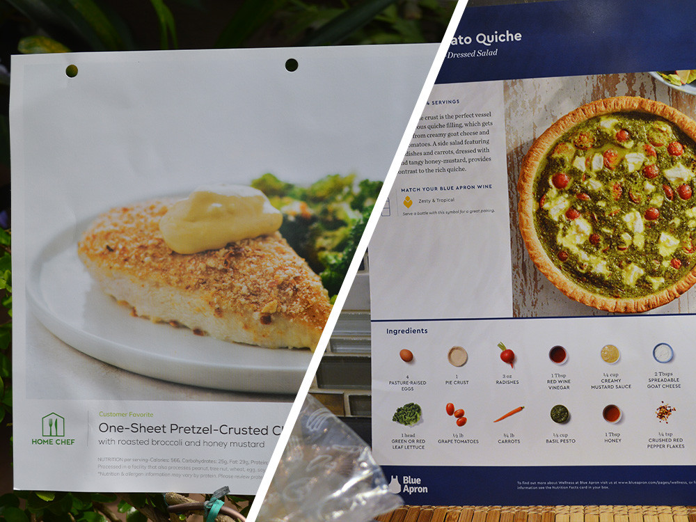Home Chef vs. Blue Apron