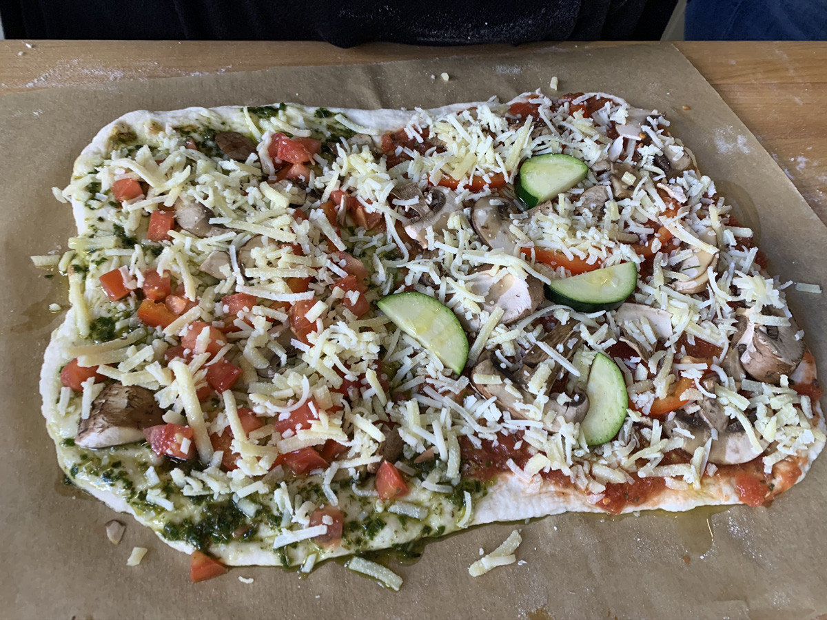 Homestyle Organic Pizza