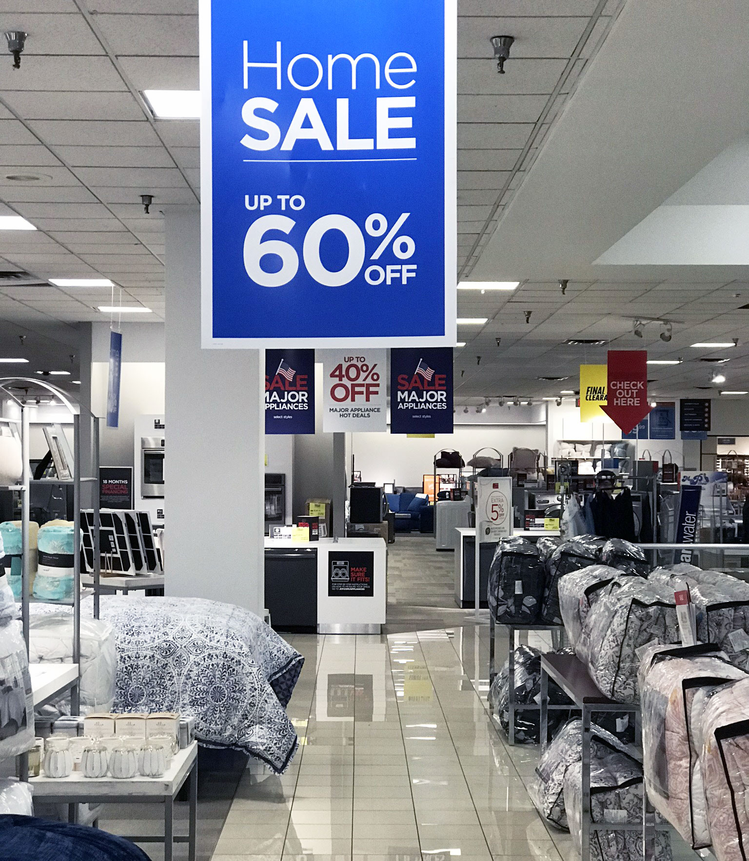 jcpenney home sale
