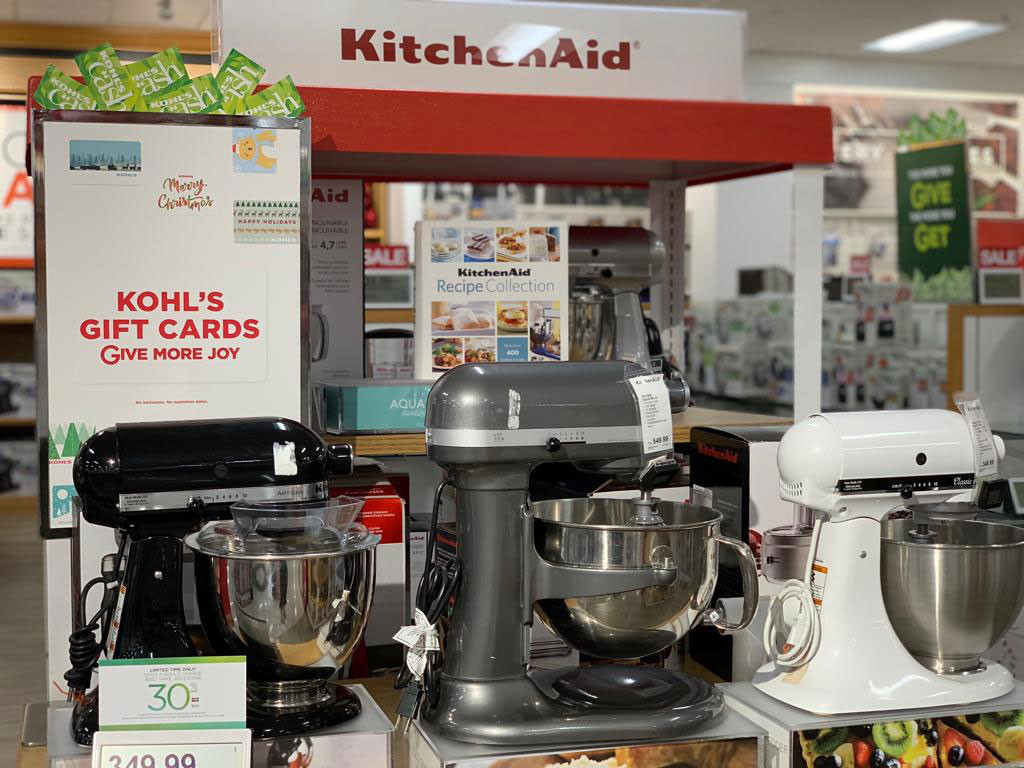 kohls kitchenaid stand mixers black friday offer