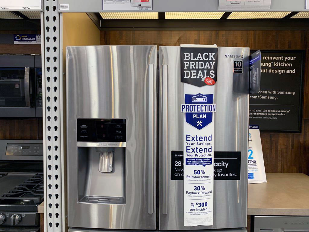 Lowes appliance black friday deals