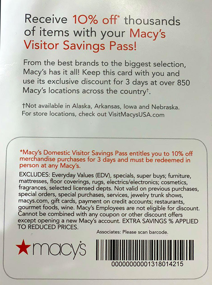 Macy's Makes Mark as Tourist Attraction