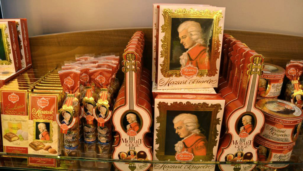 mozartkugel candies
