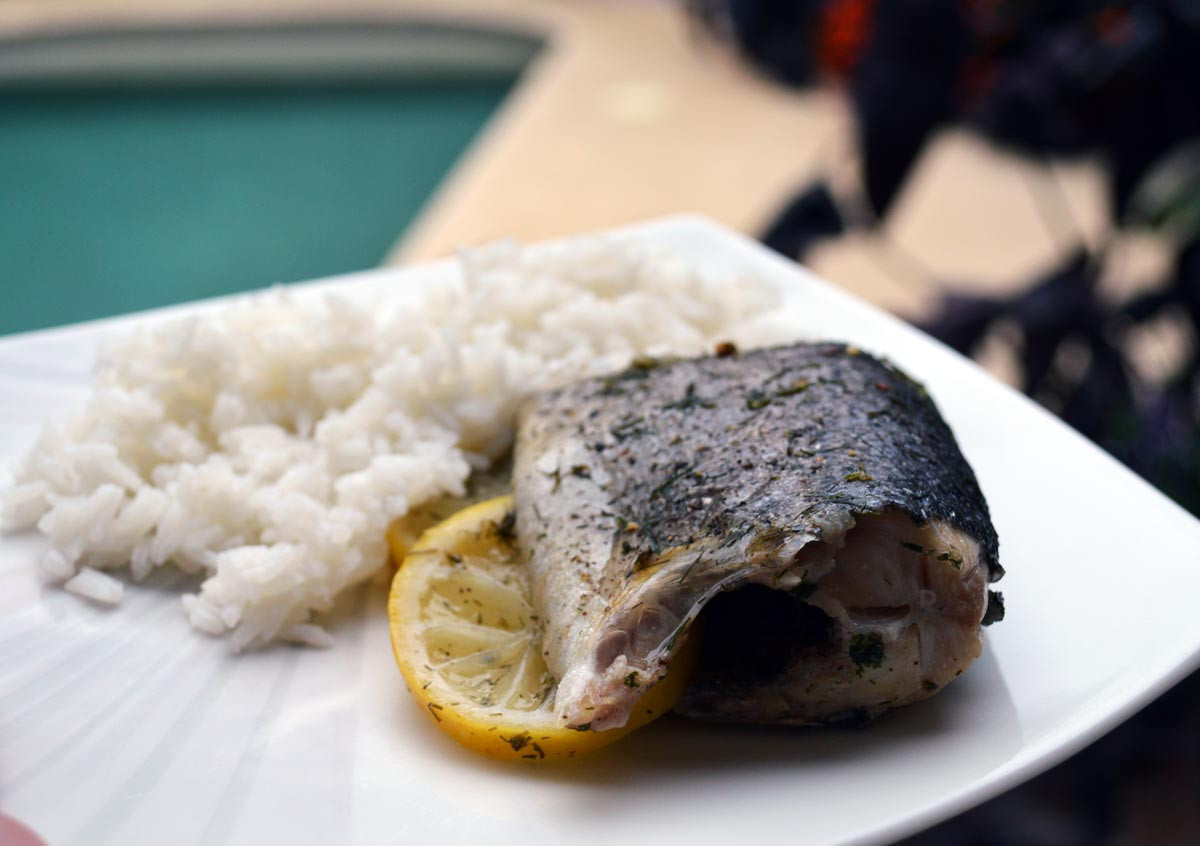 Oven Baked Whole Trout Recipe