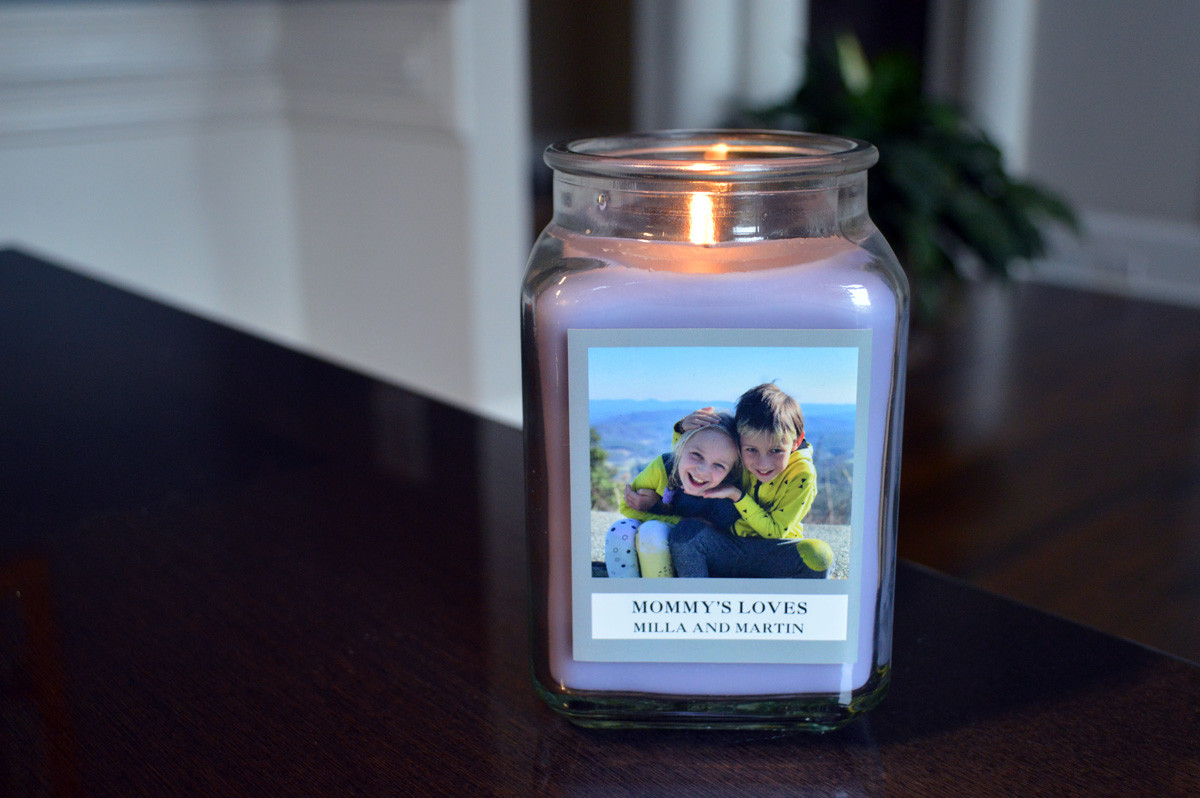 Personalization Mall Candle