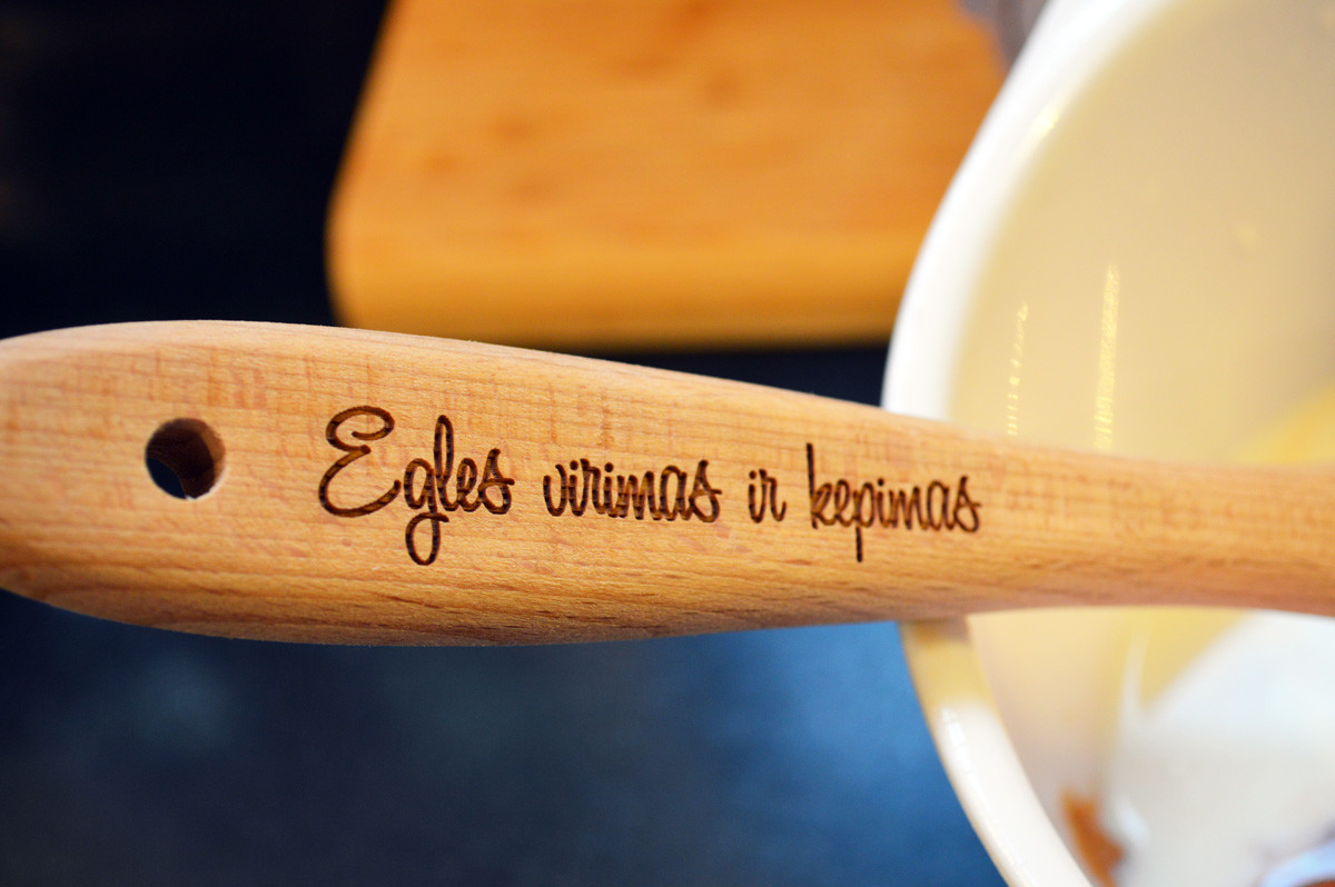 Personalized Wooden Spatulas