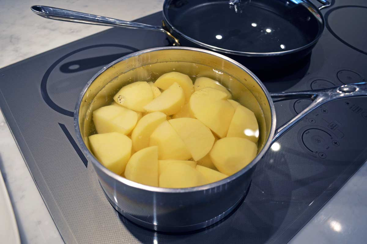Place Potatoes in a Pot