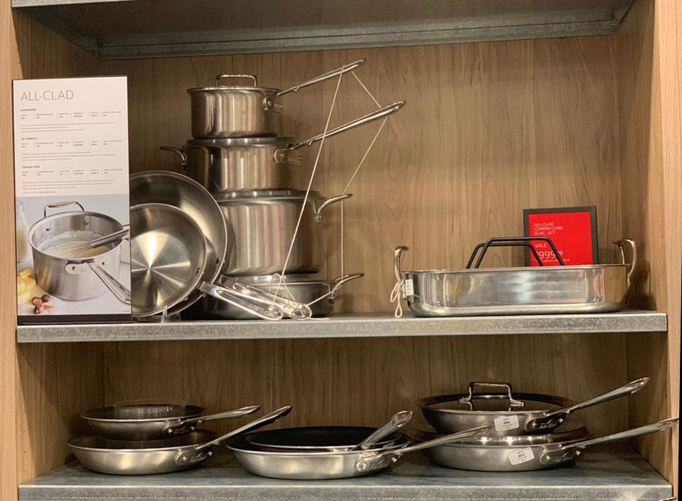 pots and pans on sale