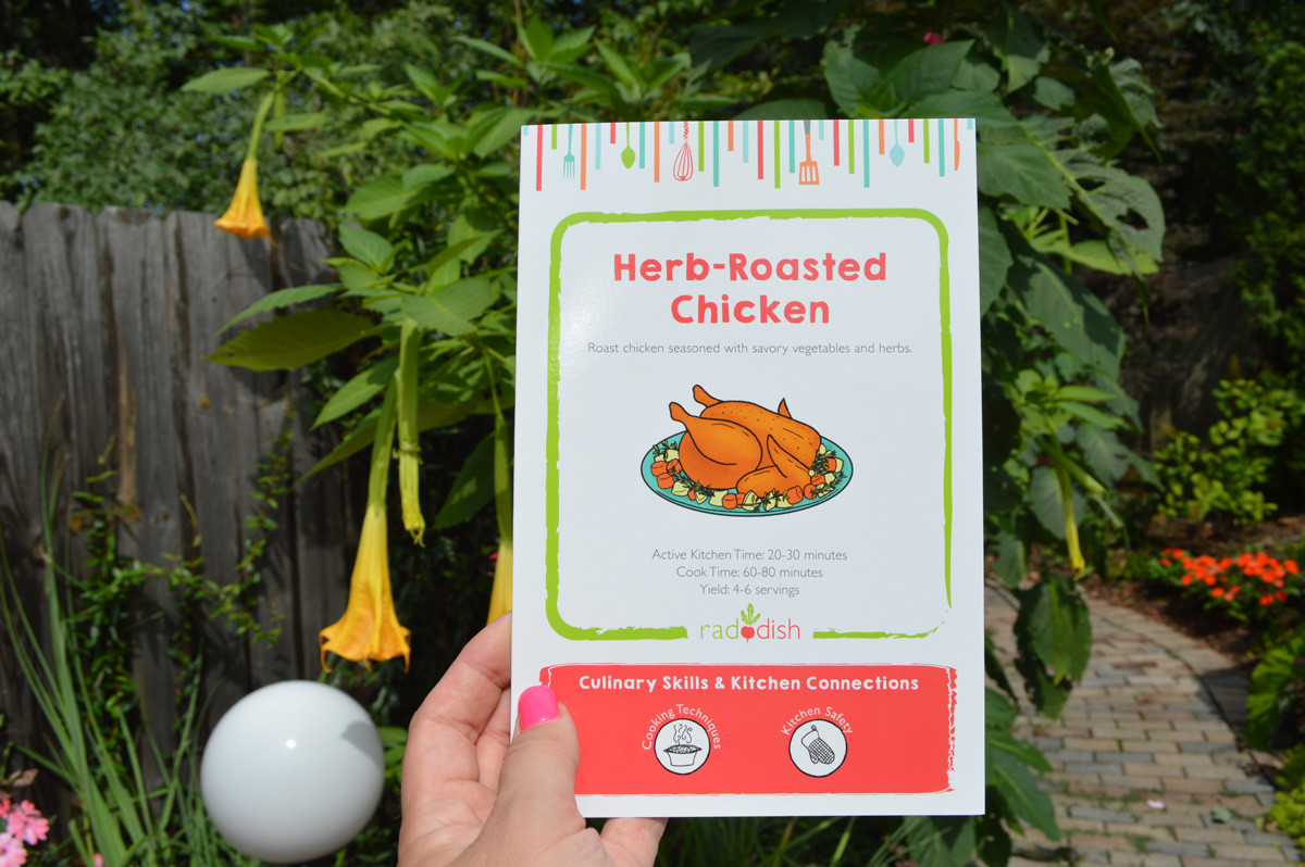 Raddish Box Herb Roasted Chicken