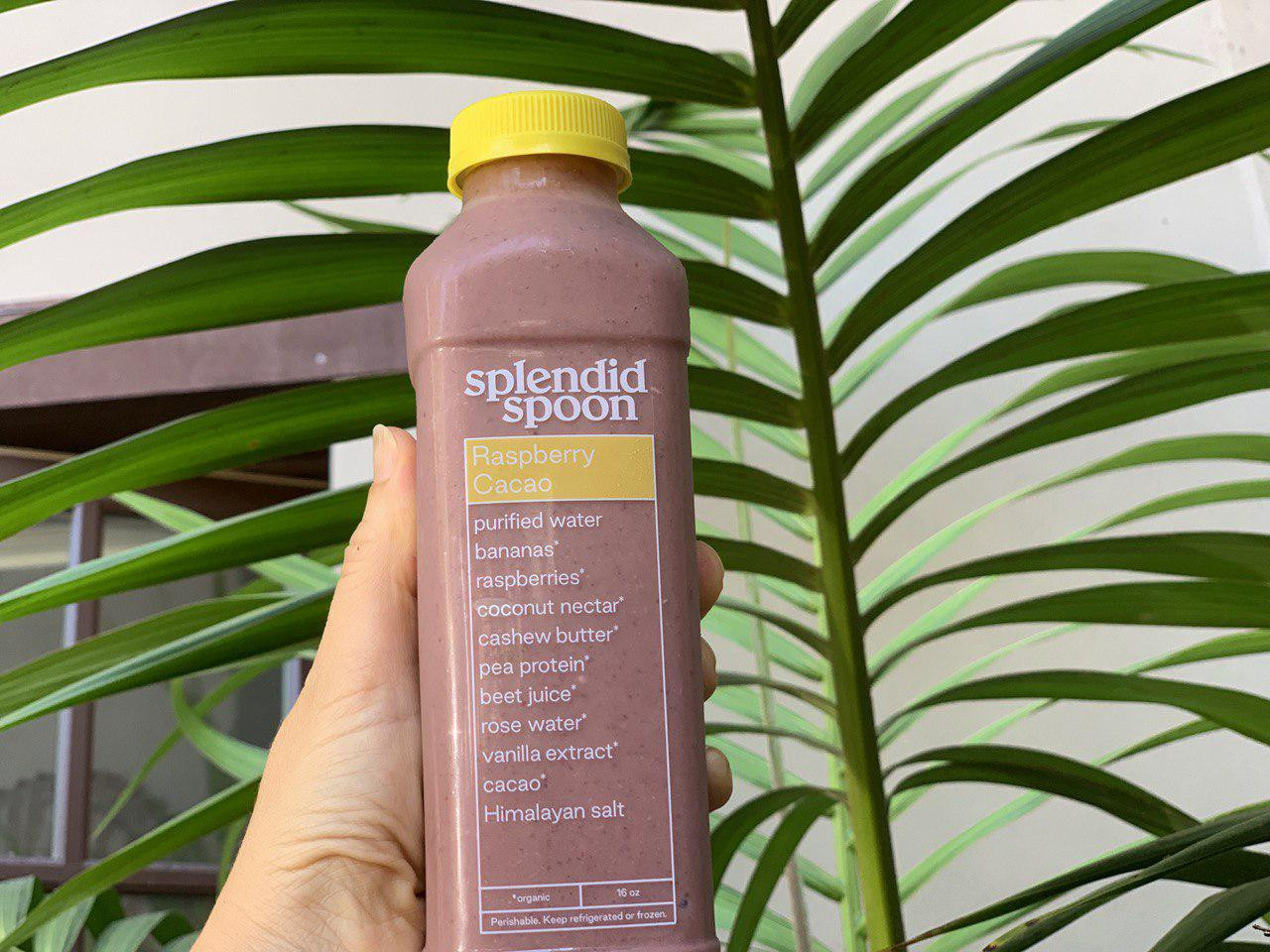 Raspberry Cacao Splendid Spoon Smoothie