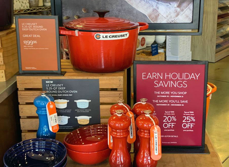 Le Creuset round deep dutch oven - Sur La Table
