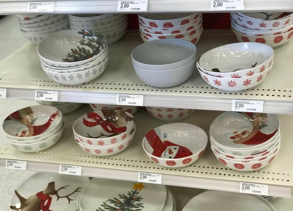 Target Holiday Plates