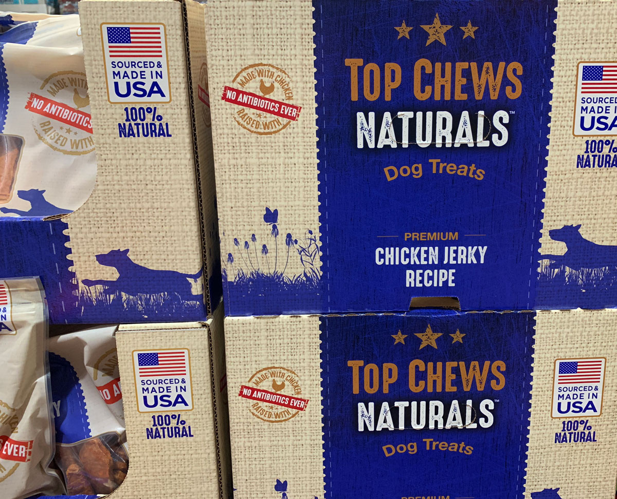 Top Chews Naturals at Chewy