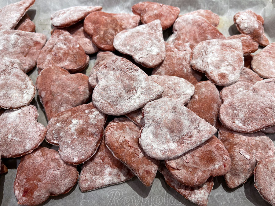 Valentine's Day Cookies for Dogs Recipe